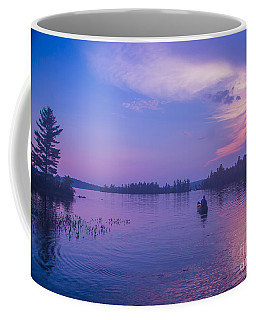Evening Canoeing  Coffee Mug