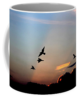 Evening Dance In The Sky Coffee Mug