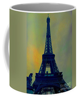 Evening Eiffel Tower Coffee Mug
