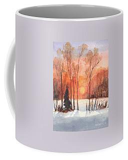 The Evening Glow Coffee Mug by Carol Wisniewski
