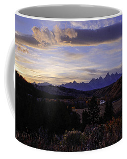 Evening In Gros Ventre Coffee Mug