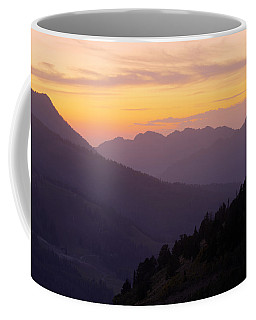 Evening Layers Coffee Mug