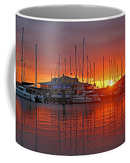 Coffee Mug featuring the photograph Evening Light by HH Photography of Florida