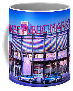 Evening Milwaukee Public Market Coffee Mug