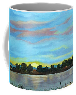 Evening On Ema River Coffee Mug