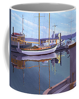 Evening On Malaspina Strait Coffee Mug