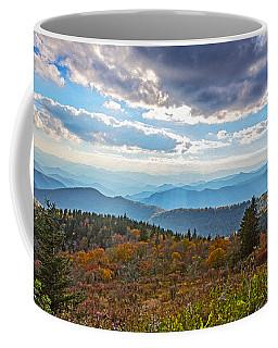 Evening On The Blue Ridge Parkway Coffee Mug by John Haldane