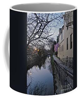 Evening On The Canal Path Coffee Mug