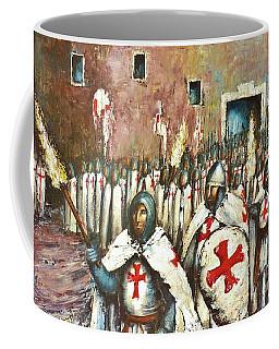 Templar Procession  Coffee Mug