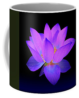 Evening Purple Lotus  Coffee Mug