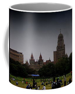Coffee Mug featuring the photograph Evening by Salman Ravish