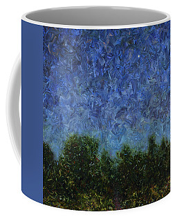 Coffee Mug featuring the painting Evening Star - Square by James W Johnson