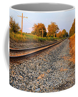 Evening Tracks Coffee Mug