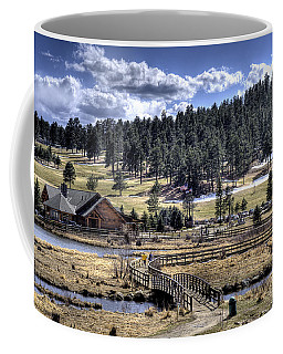 Evergreen Colorado Lakehouse Coffee Mug by Ron White
