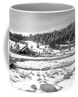 Evergreen Lake House In Winter Coffee Mug