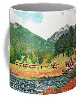 Evergreen Lake Spring Coffee Mug