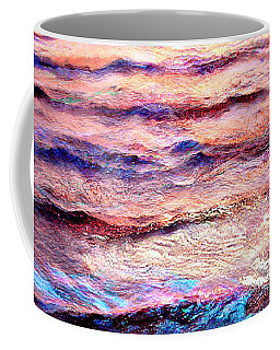 Everything Is Motion - Abstract Art Coffee Mug