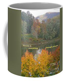 Everything With Prayer Coffee Mug