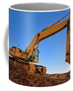 Excavator Coffee Mugs