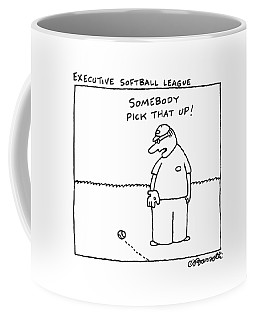 Executive Softball League Coffee Mug