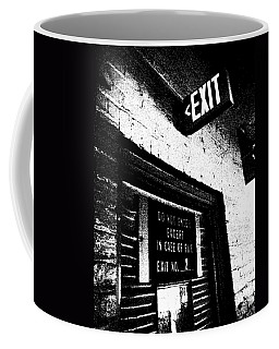 Exit Number Two Coffee Mug