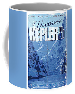 Exoplanet 02 Travel Poster Kepler 22b Coffee Mug