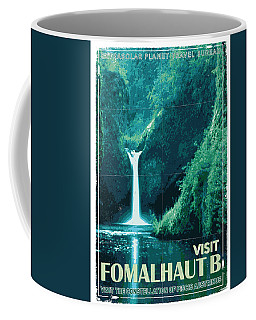 Exoplanet 04 Travel Poster Fomalhaut B Coffee Mug