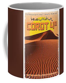 Exoplanet 05 Travel Poster Corot 4 Coffee Mug
