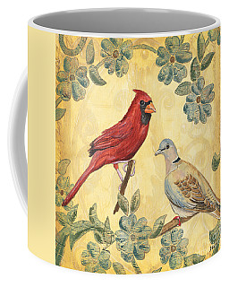 Exotic Bird Floral And Vine 2 Coffee Mug