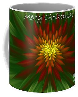 Exotic Christmas Flower Coffee Mug