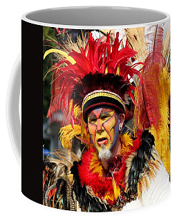 Exotic Painted Face Coffee Mug