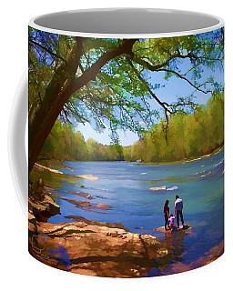 Exploring The River Coffee Mug