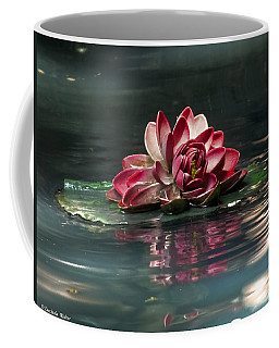 Coffee Mug featuring the photograph Exquisite Water Flower  by Lucinda Walter