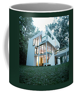 Exterior Of Mr. And Mrs. Jay Hanslemann's Coffee Mug