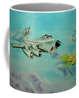 Extreme Airline Mergers Coffee Mug