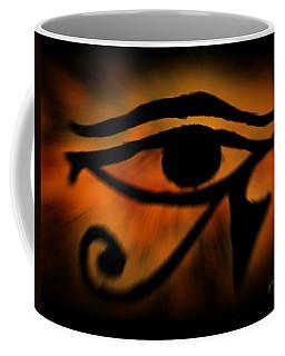 Eye Of Horus Eye Of Ra Coffee Mug