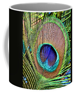 Eye Of The Feather Coffee Mug