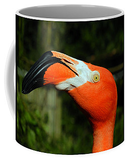 Coffee Mug featuring the photograph Eye Of The Flamingo by Bill Swartwout