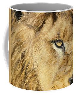 Eye Of The Lion Coffee Mug