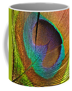 Eye Of The Peacock Coffee Mug