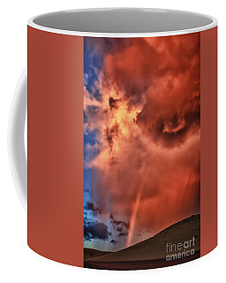 Coffee Mug featuring the photograph Eye Of The Storm by Beth Sargent