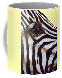 Eye Of The Zebra Coffee Mug