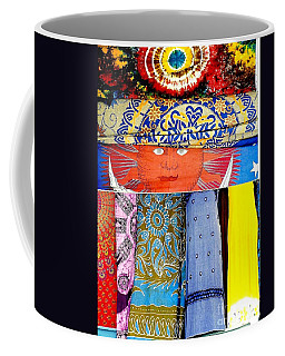Coffee Mug featuring the photograph New Orleans Eye See Fabric In Lifestyles by Michael Hoard