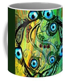 Eye Understand Coffee Mug by Ally  White