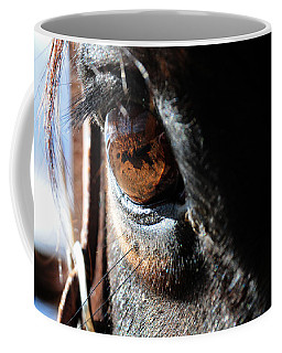 Eyeball Reflection Coffee Mug