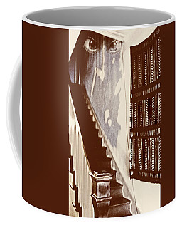 Eyes At The Top Of The Stairs Coffee Mug