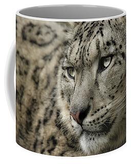 Eyes Of A Snow Leopard Coffee Mug