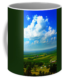 Eyes Over Farmland Coffee Mug
