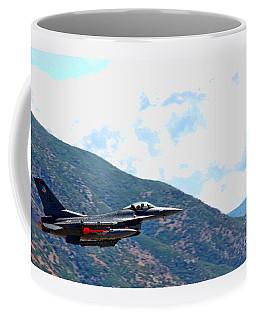F-16 Flyby Coffee Mug
