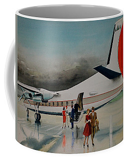 F-27 At Columbus Ohio Coffee Mug by Frank Hunter